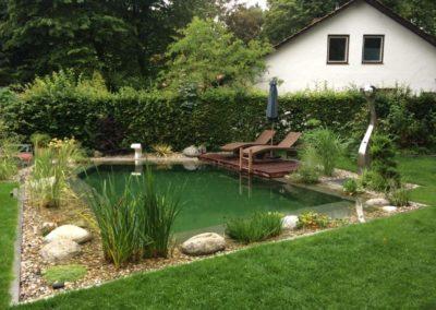 Gartenbau Hiebler Teich