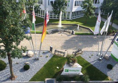 Gartenbau Hiebler Hotelanlage